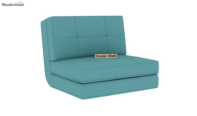 Coleman Single Futon Bed (Aqua Marine)-3