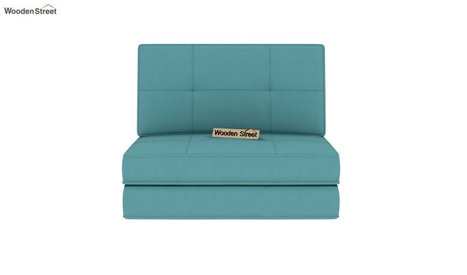 Coleman Single Futon Bed (Aqua Marine)-4