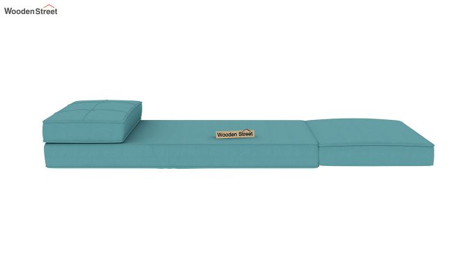 Coleman Single Futon Bed (Aqua Marine)-8