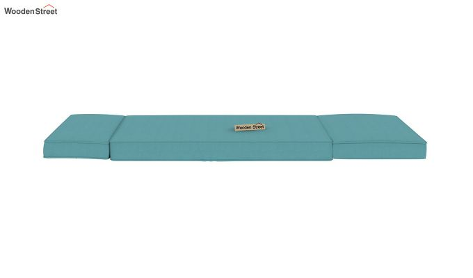 Coleman Single Futon Bed (Aqua Marine)-9