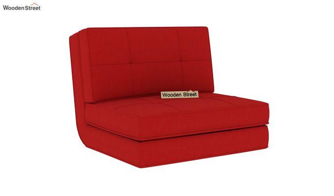 Coleman Single Futon Bed (Dusky Rose)-3