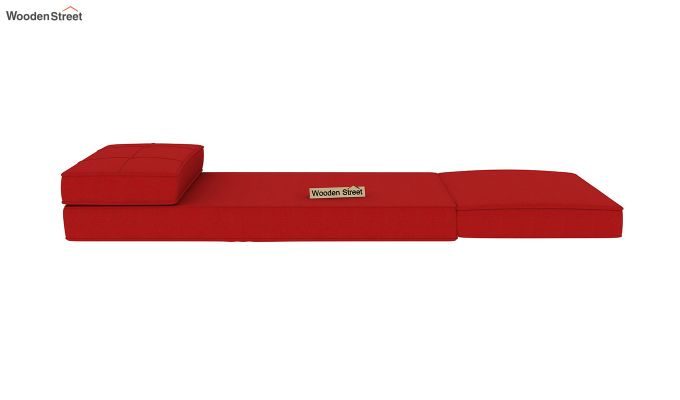 Coleman Single Futon Bed (Dusky Rose)-8