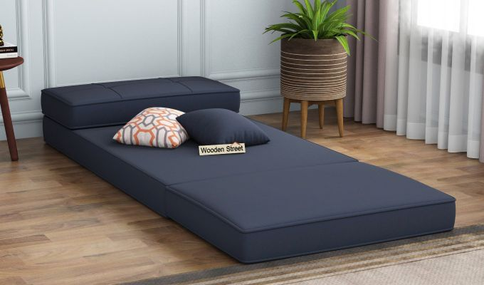 Coleman Single Futon Bed (Indigo Ink)-2