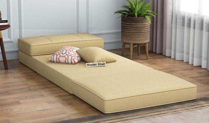Coleman Single Futon Bed (Irish Cream)-2