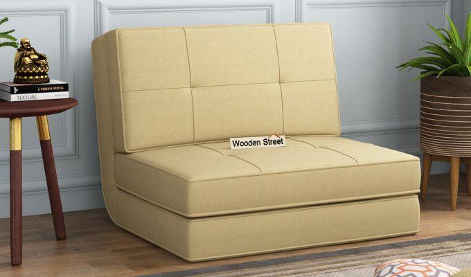 Coleman Single Futon Bed (Irish Cream)-1