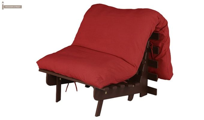 Hanover Single Seater Futon (Red Finish)-4