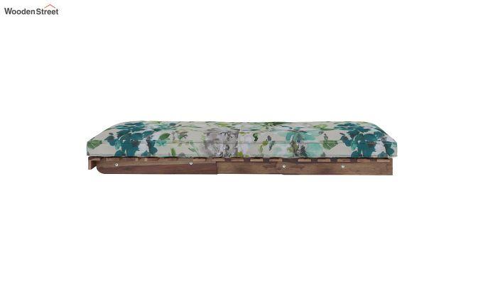 Jovi Single Futon Bed (Aqua Flower)-7