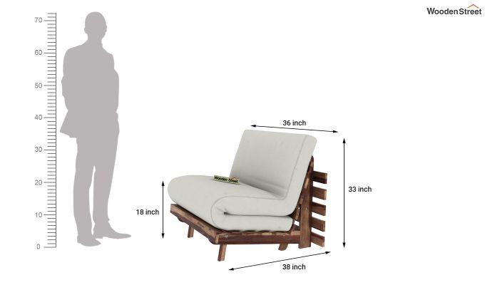 Jovi Single Futon Bed (Ivory Nude)-8