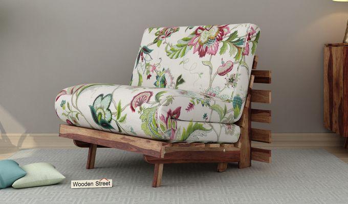 Jovi Single Futon Bed (Rose Vineyard)-1