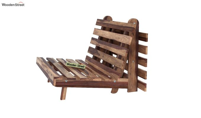 Jovi Single Futon Bed (Rose Vineyard)-5