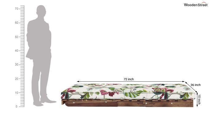 Jovi Single Futon Bed (Rose Vineyard)-9