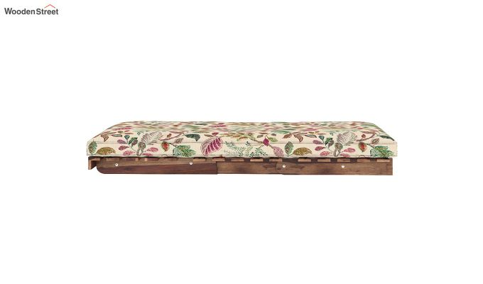 Jovi Single Futon Bed (Rosy Leaf)-7