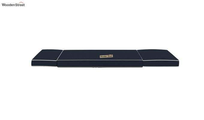 Winsley Fabric Sofa Cum Bed (Indigo Ink)-9