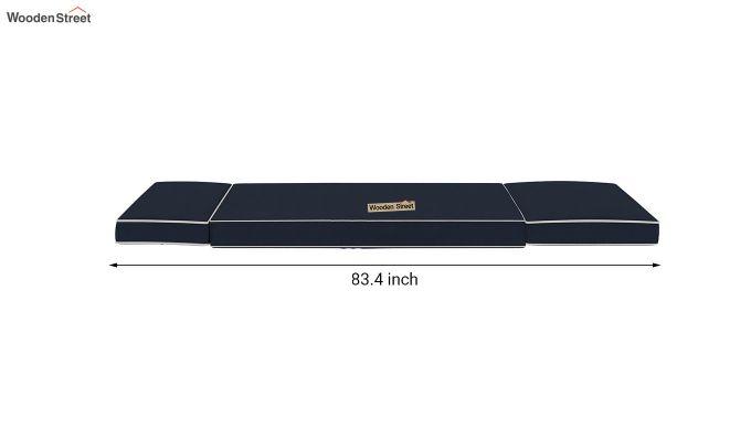 Winsley Fabric Sofa Cum Bed (Indigo Ink)-11