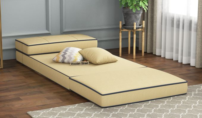 Winsley Fabric Sofa Cum Bed (Irish Cream)-2
