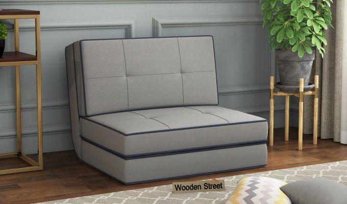 Winsley Fabric Sofa Cum Bed (Warm Grey)-1