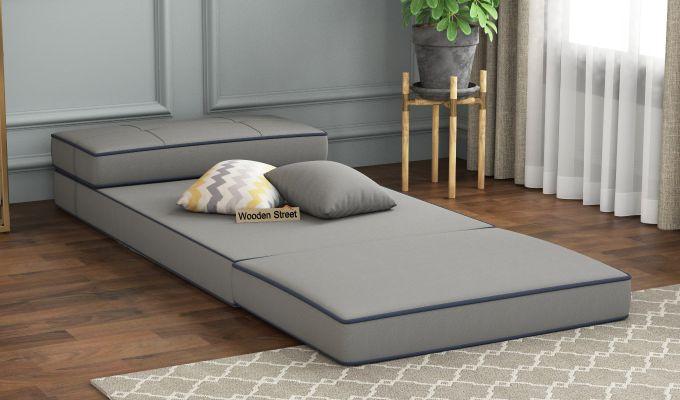 Winsley Fabric Sofa Cum Bed (Warm Grey)-2