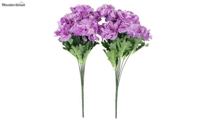 Camelia Purple Flowers Set of 2-2