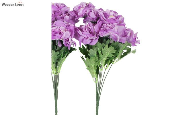 Camelia Purple Flowers Set of 2-3