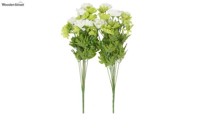Cross Dasi Green White Flowers Set of 2-2