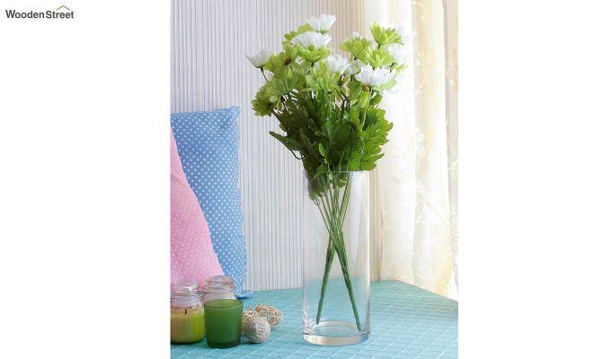 Cross Dasi Green White Flowers Set of 2-1