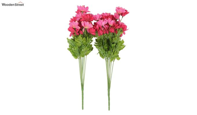 Cross Dasi Pink Red Flowers Set of 2-2