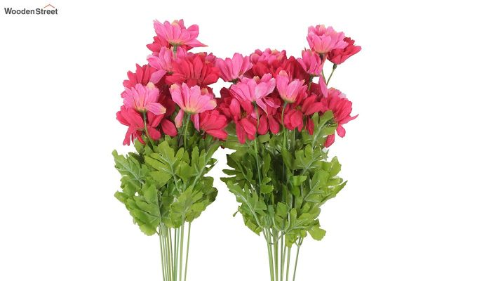 Cross Dasi Pink Red Flowers Set of 2-3
