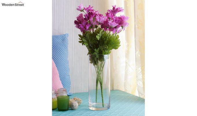 Cross Dasi Purple Flowers Set of 2-1
