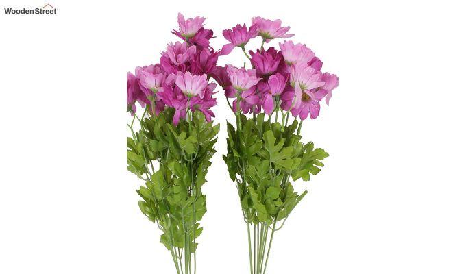 Cross Dasi Purple Flowers Set of 2-3