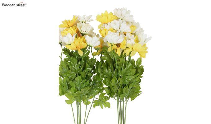 Cross Dasi White Yellow Flower Set of 2-2