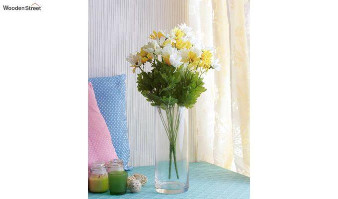 Cross Dasi White Yellow Flower Set of 2-1
