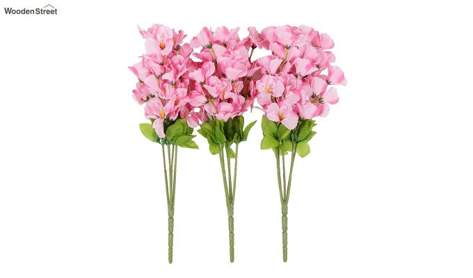 Cross Gardinia Pink Flowers Set of 3-2