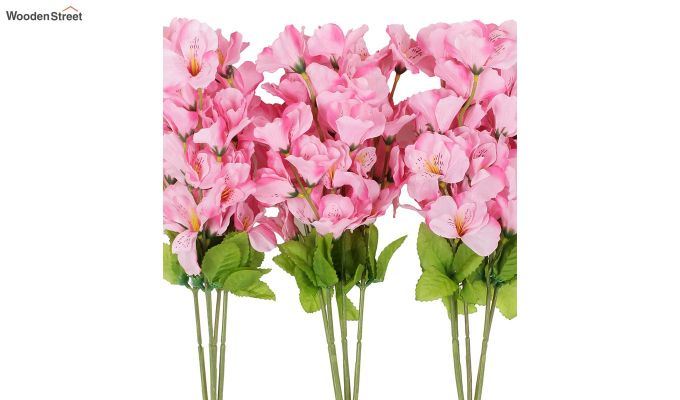 Cross Gardinia Pink Flowers Set of 3-3
