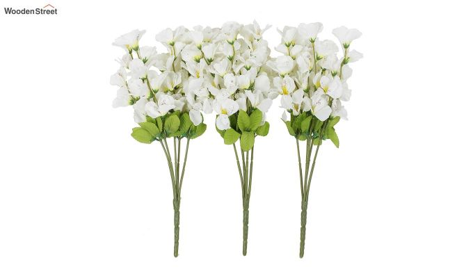 Cross Gardinia White Flowers Set of 3-2