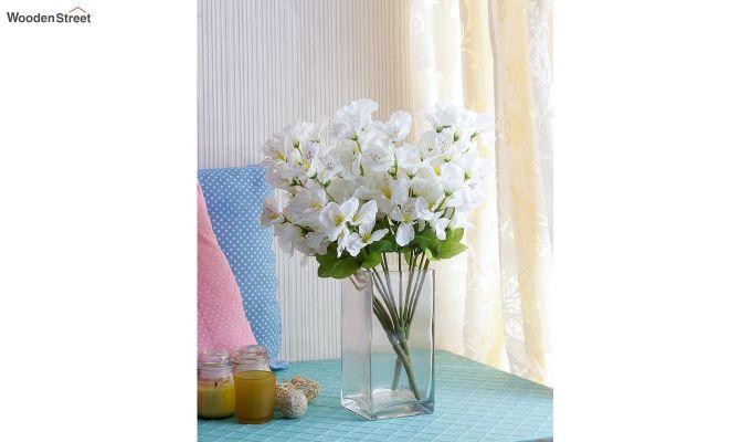 Cross Gardinia White Flowers Set of 3-1