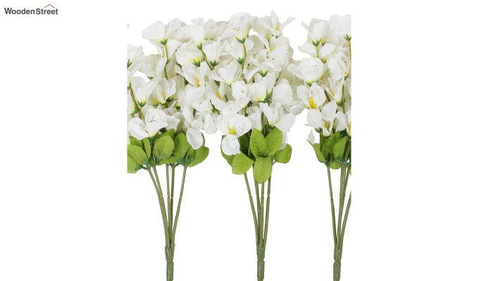 Cross Gardinia White Flowers Set of 3-3