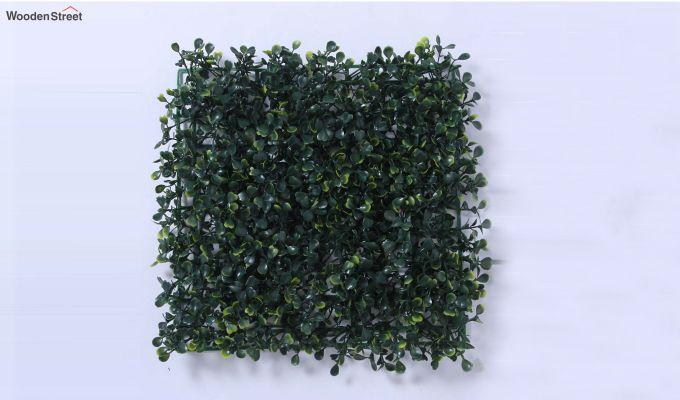 Decorative Green Plastic Artificial Eucalyptus Grass - Set of 4-3