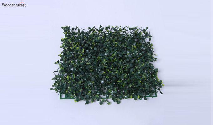 Decorative Green Plastic Artificial Eucalyptus Grass - Set of 4-4