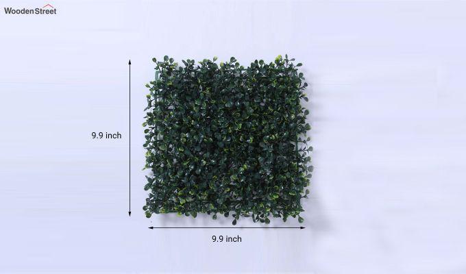 Decorative Green Plastic Artificial Eucalyptus Grass - Set of 4-7