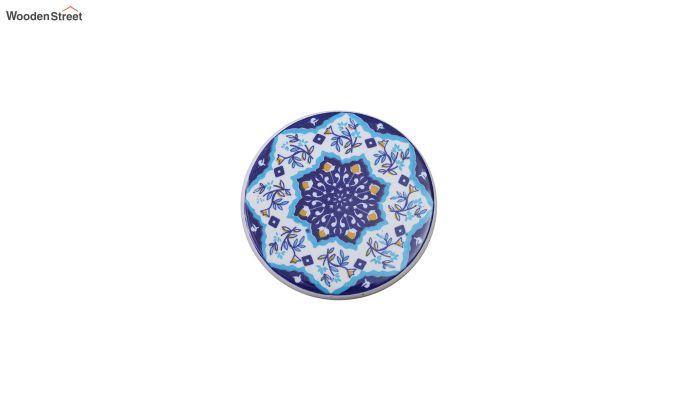 Blue Manadala Ceramic Coasters - Set of 6-4