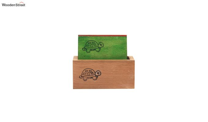 Tiny Turtle Multi-Coloured Coasters - Set of 6-3