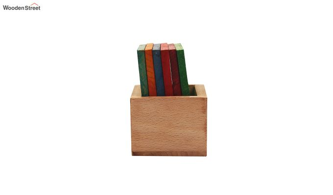 Tiny Turtle Multi-Coloured Coasters - Set of 6-4