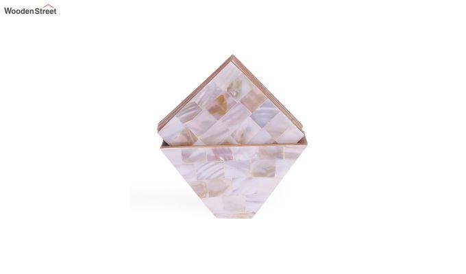White Sea Shells Coasters - Set of 6-2