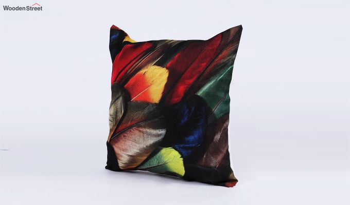 Abstract Dark Pattern Jute Cushion Covers (Set of 5)-2
