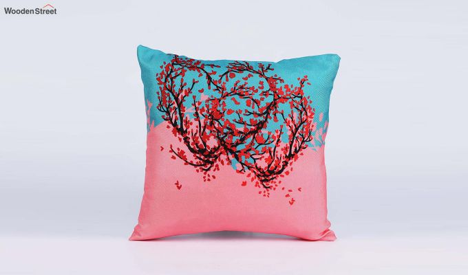 Abstract Multicolour Jute Cushion Covers (Set of 5)-6