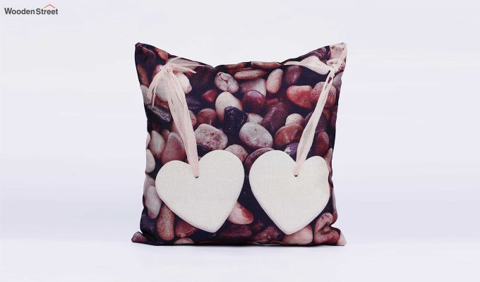 Abstract Special Pattern Jute Cushion Covers (Set of 5)-5