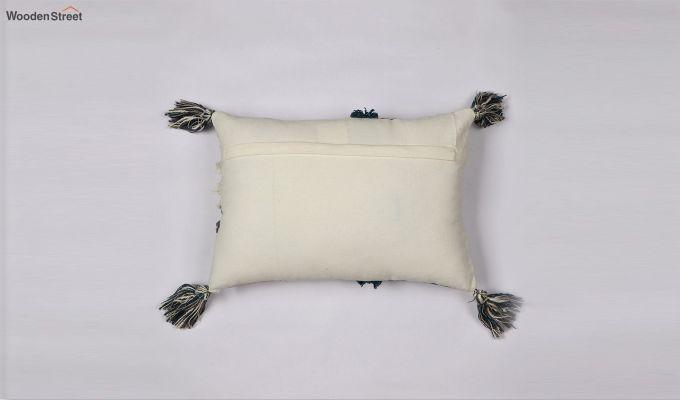 Blue Shell Digital Print Cushion Cover-3