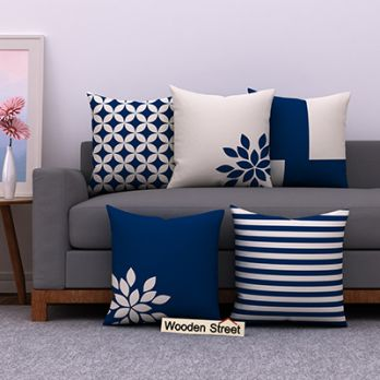 Blue Woods Cushion Covers (Set of 5)