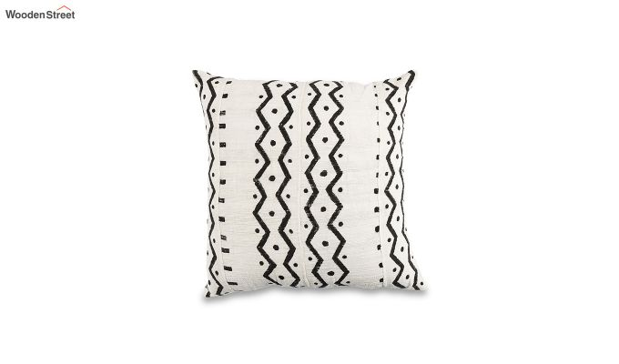 Charcoal Wave Mud Printing Cushion Cover-2