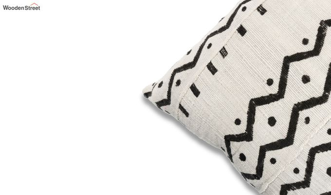 Charcoal Wave Mud Printing Cushion Cover-3